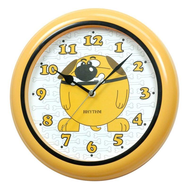 Nơi bán Đồng hồ treo tường Rhythm CMG505BR33 Basic Wall Clocks (Vàng)