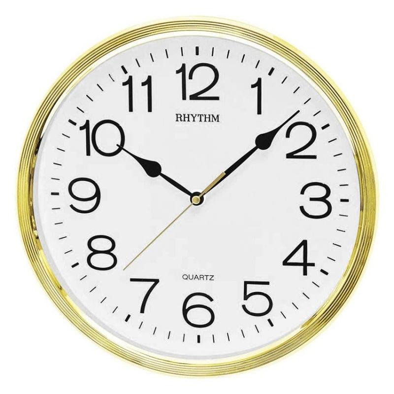 Nơi bán Đồng hồ treo tường Rhythm CMG734CR18 Basic Wall Clocks (Vàng)