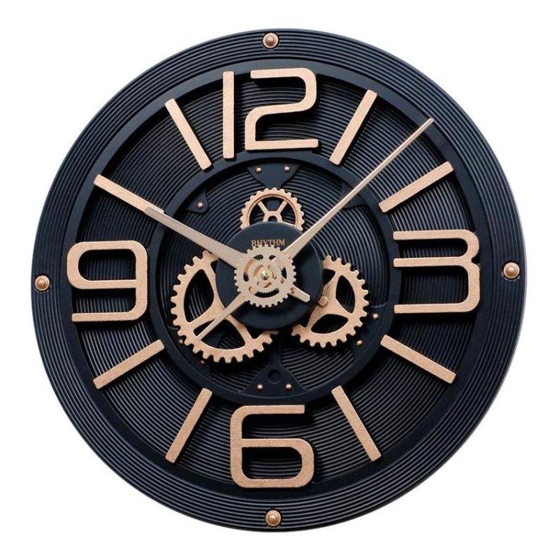 Nơi bán Đồng hồ treo tường Rhythm CMG769NR02 Gear Clocks (Đen)