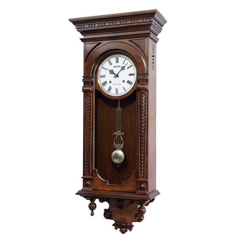 Nơi bán Đồng hồ treo tường Rhythm CMJ464FR06 SIP Wall Clocks (Nâu)