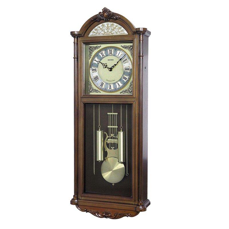 Nơi bán Đồng hồ treo tường Rhythm CMJ515NR06 SIP Wall Clocks (Nâu)