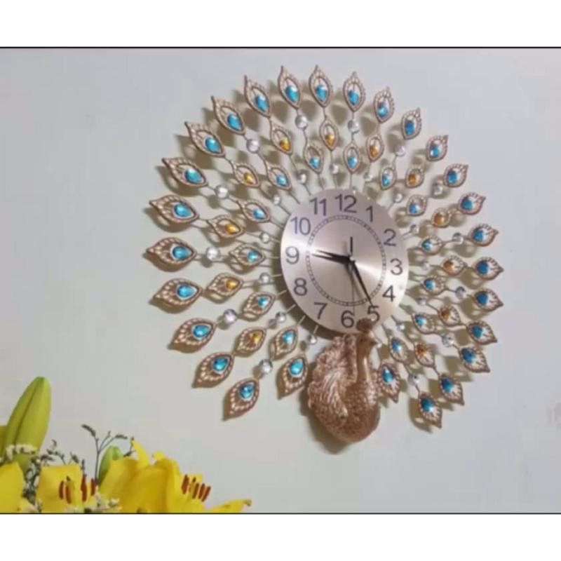 Nơi bán Đồng hồ treo tường trang trí hình công - JT1765