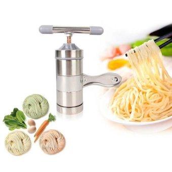 Dụng cụ Tự làm Bún, Mì, Bánh Canh tại nhà cho gia đình (Bằng Inox-5 đầu)