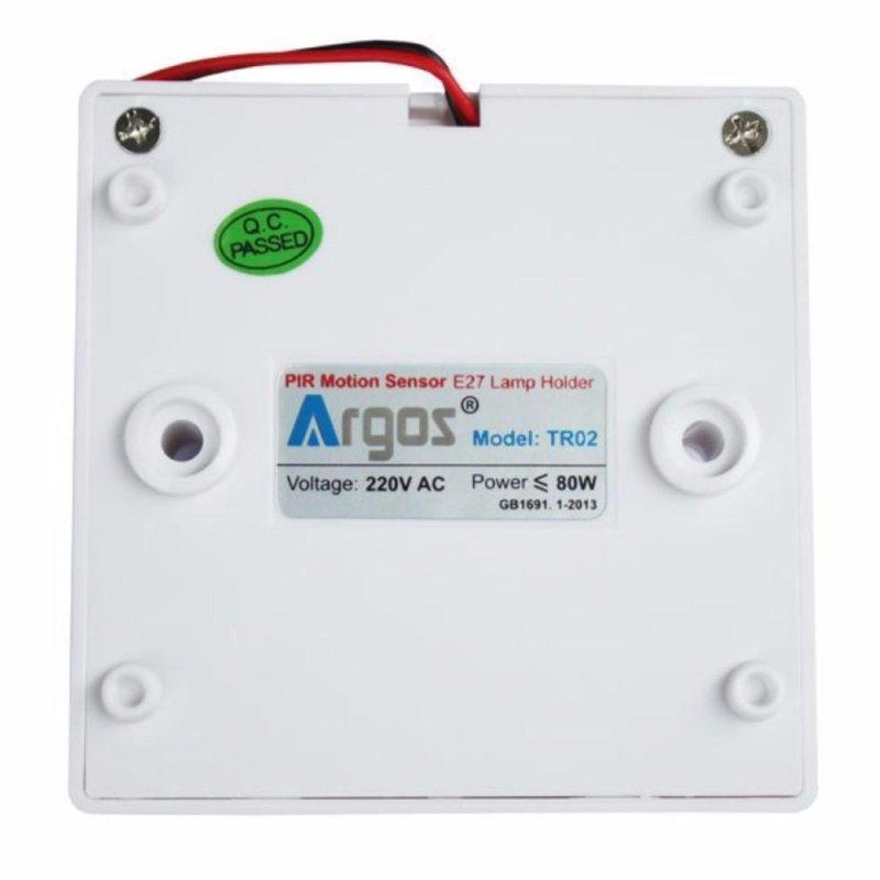 Bảng giá Mua Đuôi đèn cảm biến hồng ngoại Argos TR02 - tặng phích cắm chuẫn F