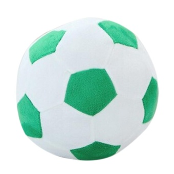 Fangfang New World Cup creative soccer plush toys 45cm-Green - intl