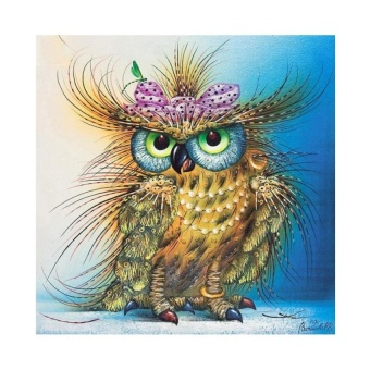 FRD Owl 5D Diamond Diy Painting Craft Kit Home Decor - intl