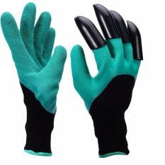 Găng tay Làm Vườn, Chăm Sóc Cây Cảnh ( Xanh đen )
