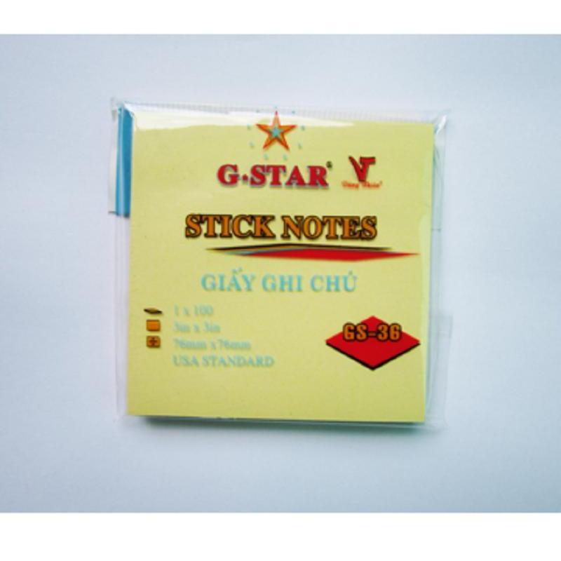 Mua GIẤY GHI CHÚ G-STAR 3X2