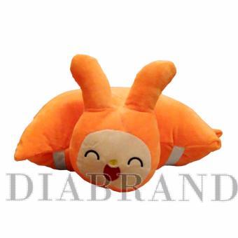 Gối đi xe bảo vệ đầu cho bé hình thỏ ngộ nghĩnh-GXPN01 (nhà bán hàng Diabrand)