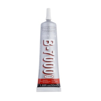 GOOD 50ml Super Strong Adhesive Glue W/Needle For Mobile Phone Shell Rhinestones - intl