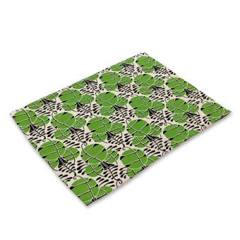 Green Leaf Pattern Non-Slip Table Insulation Placemat Fashion Style Dining Mat - intl - 8526865 , OE680HLAA6ZR18VNAMZ-12832782 , 224_OE680HLAA6ZR18VNAMZ-12832782 , 154000 , Green-Leaf-Pattern-Non-Slip-Table-Insulation-Placemat-Fashion-Style-Dining-Mat-intl-224_OE680HLAA6ZR18VNAMZ-12832782 , lazada.vn , Green Leaf Pattern Non-Slip Table