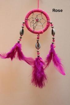 Handmade Dream Catcher Feather Pendant Ornament Wall Car Hanging Decorative - intl