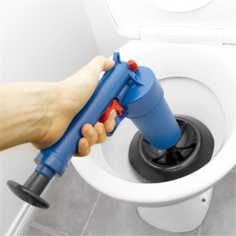 HappyLife High Pressure Plunger Blaster Air Drain Unclogs Toilets Pump Sinksfor Cleanning Toilets - intl