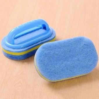 HappyLife Kitchen Bathroom Bathtub Scrubber Cleaner Tile Windowspongecleaning Accessory - intl