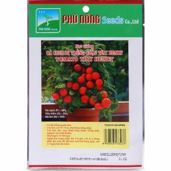 Hạt giống cà chua bi trồng chậu Phú Nông - 0,1g