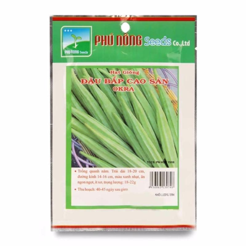 Hạt giống đậu bắp cao sản OKRA Phú Nông 10g