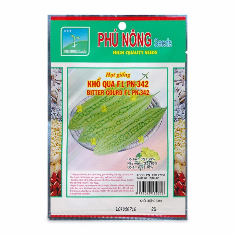 Hạt giống khổ qua F1 Phú Nông PN-342 2g