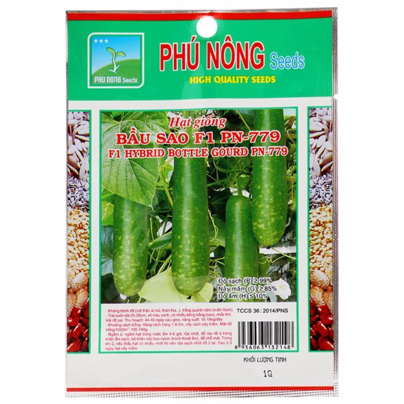 Hạt giống Phú Nông Bầu Sao F1 PN799- - Gói 1g
