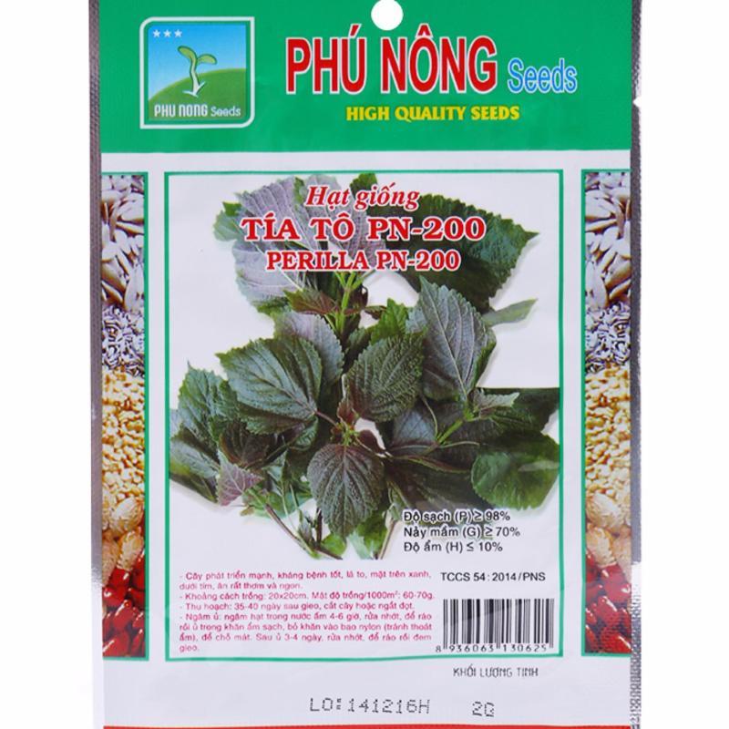 Hạt giống tía tô PN-200 - 5g