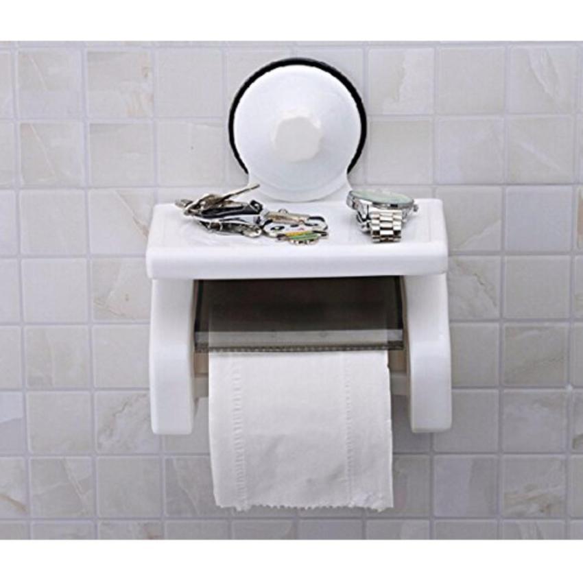 Hộp đựng giấy vệ sinh hút chân không có nắp đậy_DT
