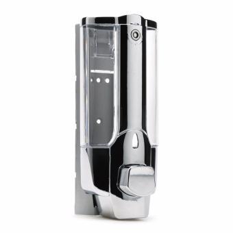 Hộp đựng nước rửa tay xà phòng gắn tường loại 1 bình SM415(Xám)