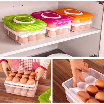 Hộp đựng trứng thông minh 2 tầng 24 ngăn - 8513414 , OE680HLAA4XN8OVNAMZ-9093993 , 224_OE680HLAA4XN8OVNAMZ-9093993 , 129000 , Hop-dung-trung-thong-minh-2-tang-24-ngan-224_OE680HLAA4XN8OVNAMZ-9093993 , lazada.vn , Hộp đựng trứng thông minh 2 tầng 24 ngăn