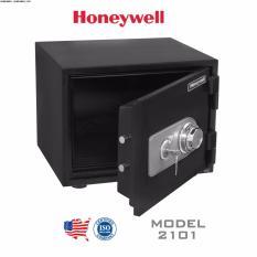 Két sắt chống cháy, chống nước Honeywell 2101 khoá cơ - 34kg ( Mỹ )