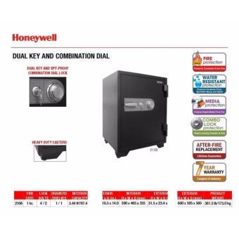 Két sắt chống cháy,chống nước Honeywell 2108 khoá cơ ( Mỹ )