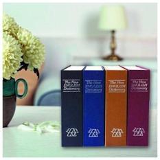 Két sắt giấu đồ giá trị hình cuốn sách từ điển độc đáo