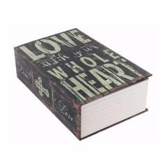Két sắt mini giả sách Love - GD085