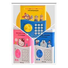 Két sắt Mini Hình DOREMON Xanh Đồ  chơi cho bé ( có video hướng dẫn )