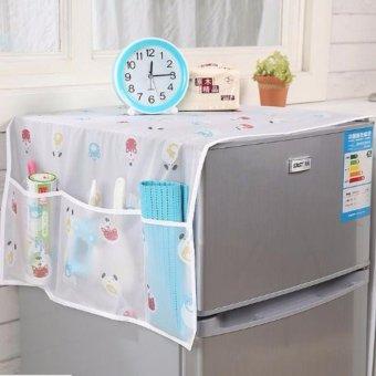 Khăn Phủ Tủ Lạnh Hoa Văn