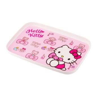 Khay bằng nhựa Lock&Lock Hello Kitty dành cho trẻ em - LKT408(Hồng)