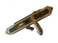 Khóa cửa đồng đại Fadex 004L-PVD (Vàng)