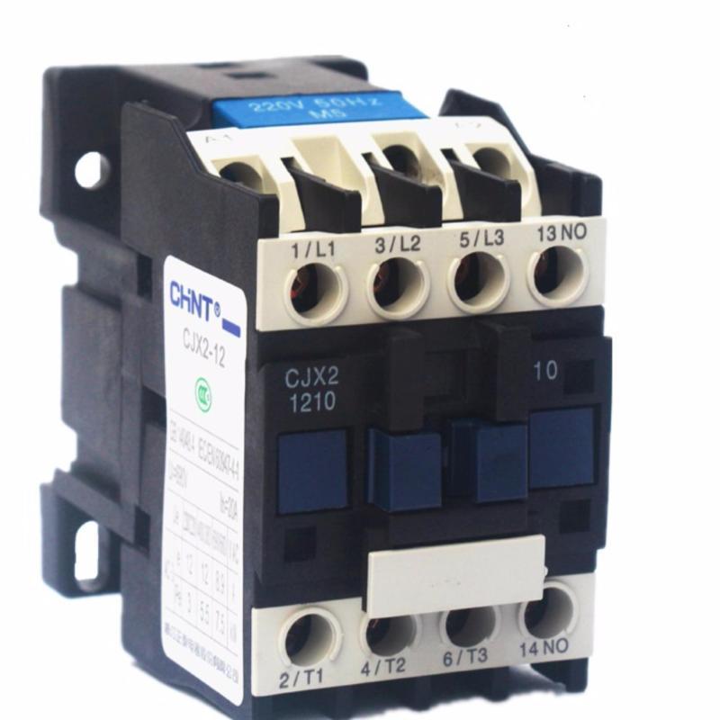 Bảng giá khởi động từ AC contactor CHINT CJX2-1210 (220V 12A)