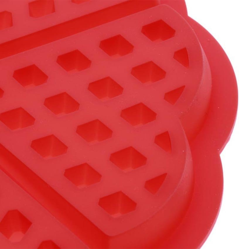 Khuôn làm bánh Waffle sillicon hình trái tim HT0250-00SI