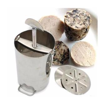 Khuôn làm giò chả bằng inox (loại1kg)