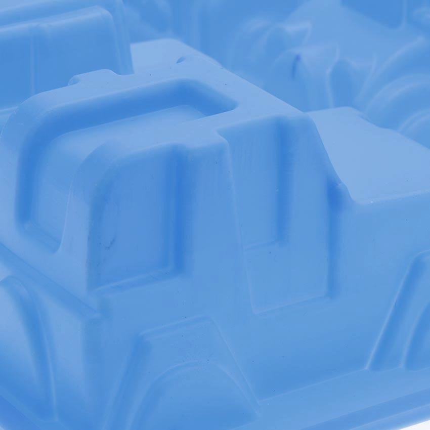 Khuôn nướng bánh silicon xe hơi 6 hình HT3640-00GRE