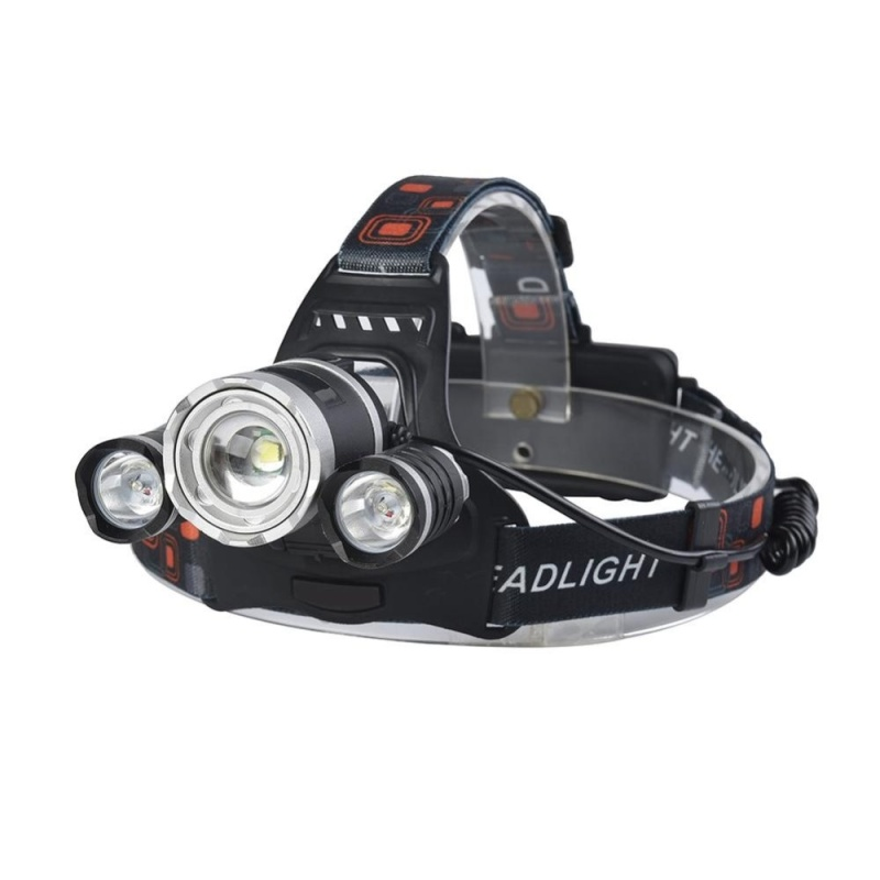 Bảng giá Mua LED 2000LM Rechargeable Headlamp 4 Light Modes Focus Zoomable Adjustable Weather-proof Flashlight Torch Headlight for Running/Camping/Reading/Fishing/Hunting/Walking - intl