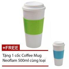 Ly giữ nhiệt Coffee Mug Neoflam (Xanh lá) + Tặng 1 cốc CoffeeMugNeoflam (Xanh)