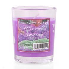 Giảm giá Ly nến thơm votives hương oải hương Miss Candle FtraMart FTM-NQM0413 (Tím)