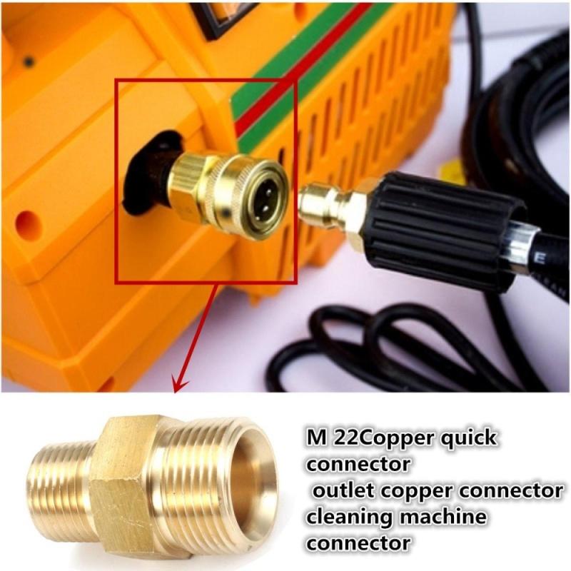 M22 Male to 3/8 NPT Male Pipe Thread Adapter 14mm Inside Diameter - intl