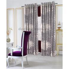 Giá Niêm Yết Màn cửa đơn khoen Miss Curtain 135x160cm (521-Violet)  MISS_CURTAIN