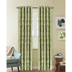Giá Màn cửa đơn khoen Miss Curtain 143x300cm (NG088-Wood Bine)
