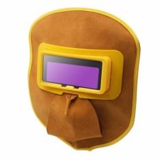 Mặt nạ hàn điện tử da bò chống cháy, gọn nhẹ nhưng bảo vệ được cả đôi mắt và gương mặt bạn  - phụ kiện may han hoi  - Bảo hành 1 đổi 1