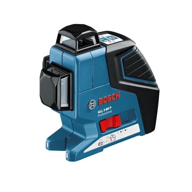 Máy cân mực laser 3 tia Bosch GLL3-80P (Xanh)