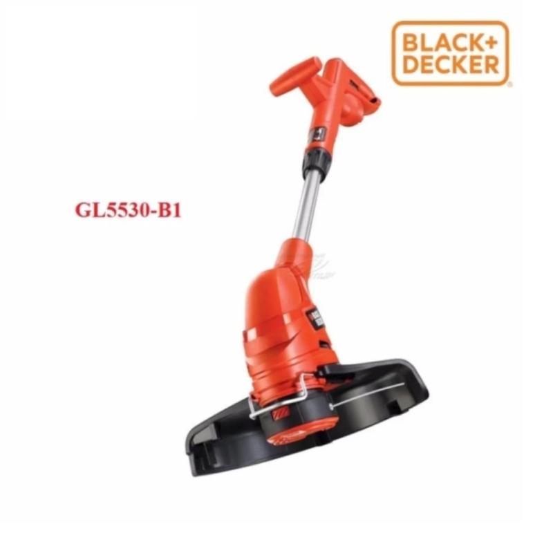 Máy cắt cỏ cầm tay 550W Black+Decker + Kèm phụ kiện (A6441) LƯỠI CƯỚC GL5530-B1 (NEW 2017)