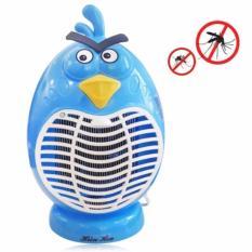 Máy diệt côn trùng thông minh kiêm đèn LED ngủ Hình Angry Bird (xanh)