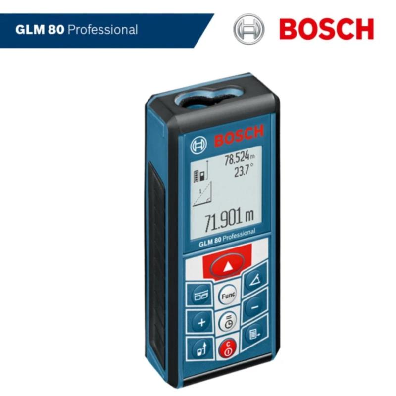 Máy đo khoảng cách laser Bosch GLM 80 Professional(Xanh)