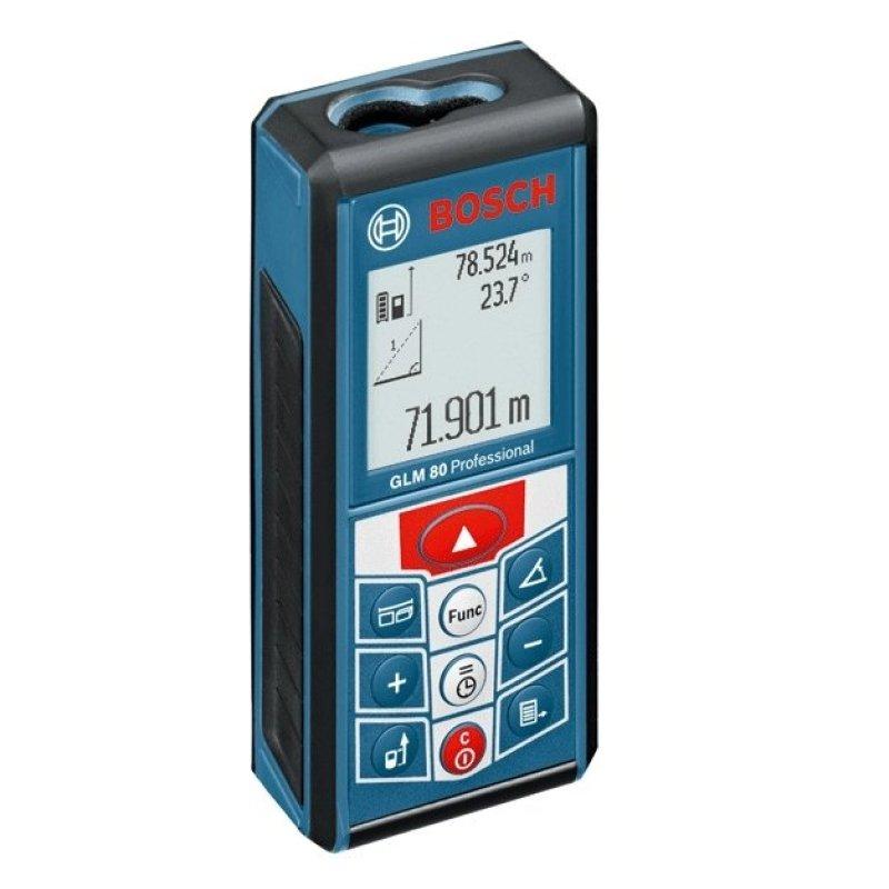 Máy đo khoảng cách laser Bosch GLM 80 (Xanh)